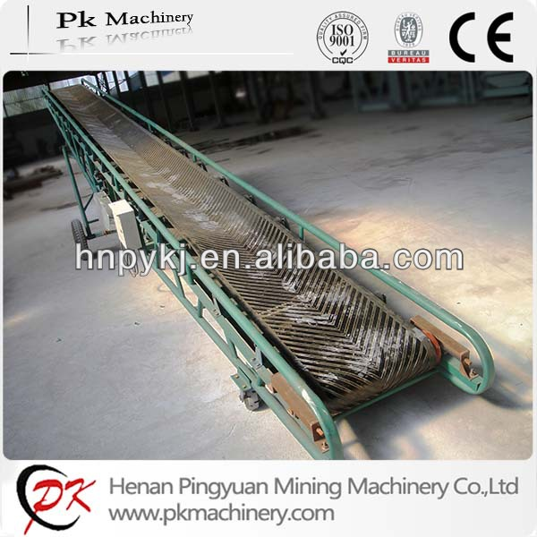Used for coal sand gravel stone grain cotton portable belt conveyor