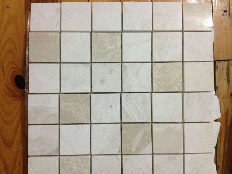 Beige Mosaic 4,8X 4,8 Mosaic Tiles Turkish Mosaics For Interior Walls Marble Mosaics Travertine Tiles Emperedor Mosaics Turkey