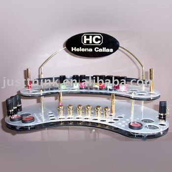 professional custom acrylic cosmetic display