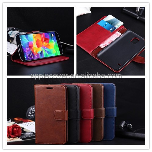 smart phone case for galaxy s5,luxury well-made flip cover for galaxy s5