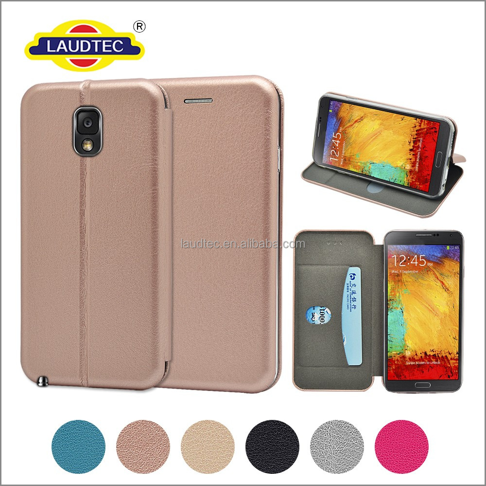 for samsung galaxy note 3 back cover leather case pu leather case wallet flip cover for samsung galaxy note 3