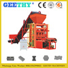 QTJ4-26 cement hollow block machine for small industry / concrete block paving stone making machine