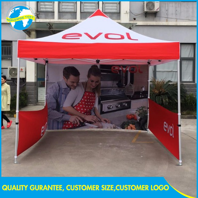 Advertise 10x10 Exhibition Trade Show Event 3x3 Foldable Canopy Tent Vendor
