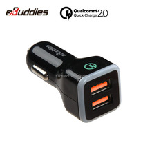 portable qc2.0 car charger for Quick Charge mobile Phone / power bank