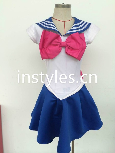 halloween Sexy cosplay Sailor Moon costume saxy school girl sets image
