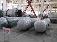 single/double pass stainless steel floating head Tubular condenser 1 m2-200 m2