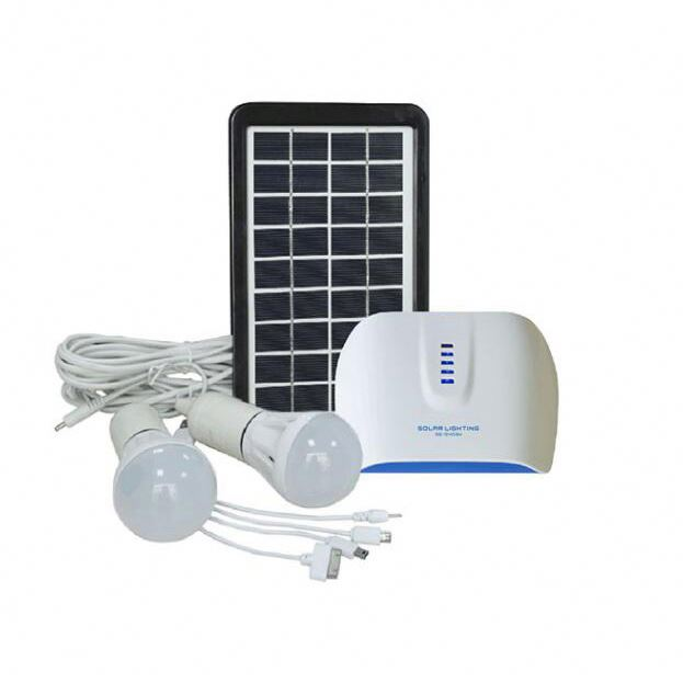 solar panel home lighting kits small systerm