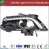 Special led drl light,with turn function,white,led drl for Ford 13 New Mondeo