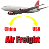 Professional cheap fast safe import export air services to usa from China famous supplier