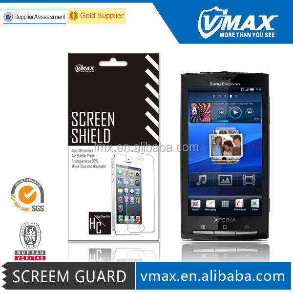 Screen protection film for Sony Xperia Ericsson X10
