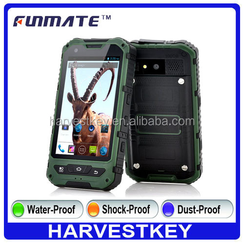 IP67 Waterproof Rugged Smartphone Dual Core WIFI 3G GPS Andriod 4.2 Outdoor Mobile
