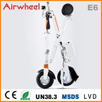 Airwheel E6 Fashional mini folding fast electric bike with lifepo4 panasonic battery CE ROHS approval