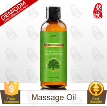 OEM Factory Supply Pain Relief Massage Oil 200ml Topical Pain Reliever for Soft Tissue Mobilization, Deep Tissue Massages