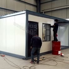 Competitive nice design prefabricated house for france with thermal insulated boards