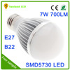 NEW design mini size e27 LED globe glass lamp body bulb light aluminum light bulb costume cover