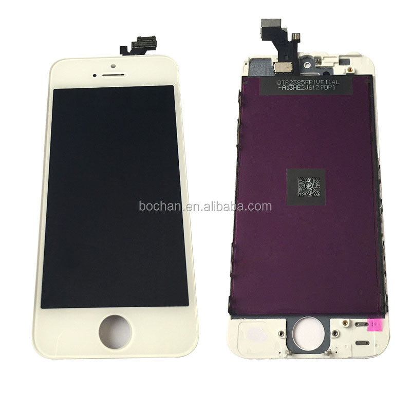 Replacement Digitizer LCD Touch Screen For iphone 5,LCD For iphone 5 Wholesale and Retail