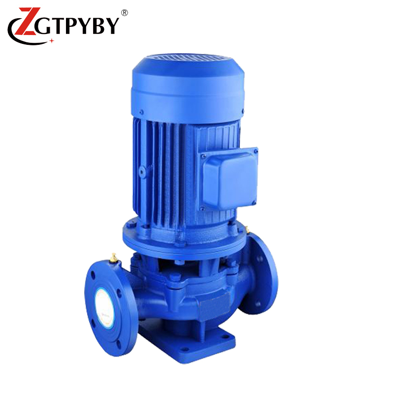 high capacity in line booster pumps vertical centrifugal pipeline water pump for 3 storey building