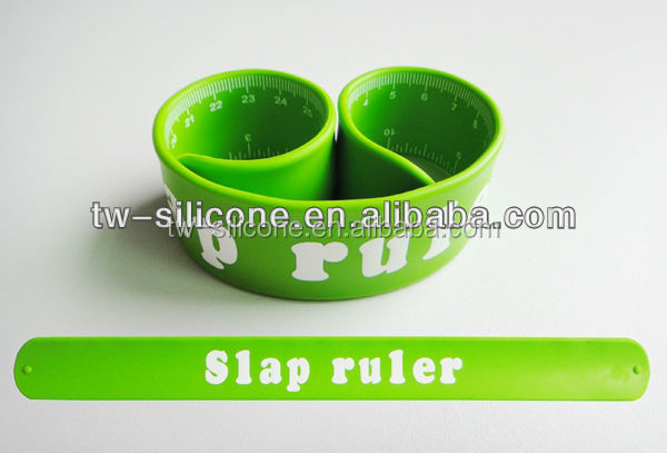 silicone wrist slap ruler for students