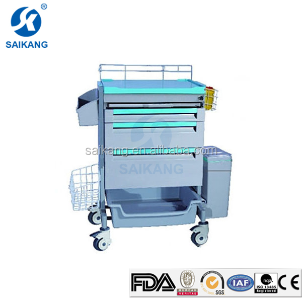 China Factory Simple Simple Medicine Delivery Trolley For Medical Use