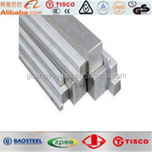 high quality ASTM 316L stainless steel square bar 50x50 steel profile
