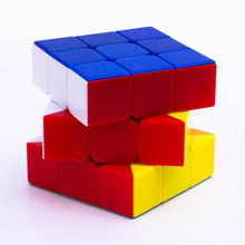 Advertising logo printed candy stickerless sliding puzzle Magic cubes