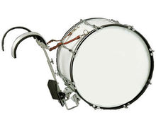 Marching Bass Drum(PVC), jinbao marching bass drum, roland electronic drums
