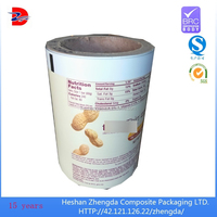 aluminized polyester food warp for plastic film jumbo roll