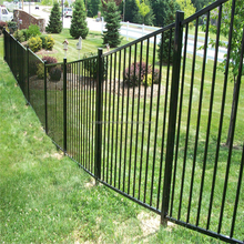 High security used metal wrought iron fence
