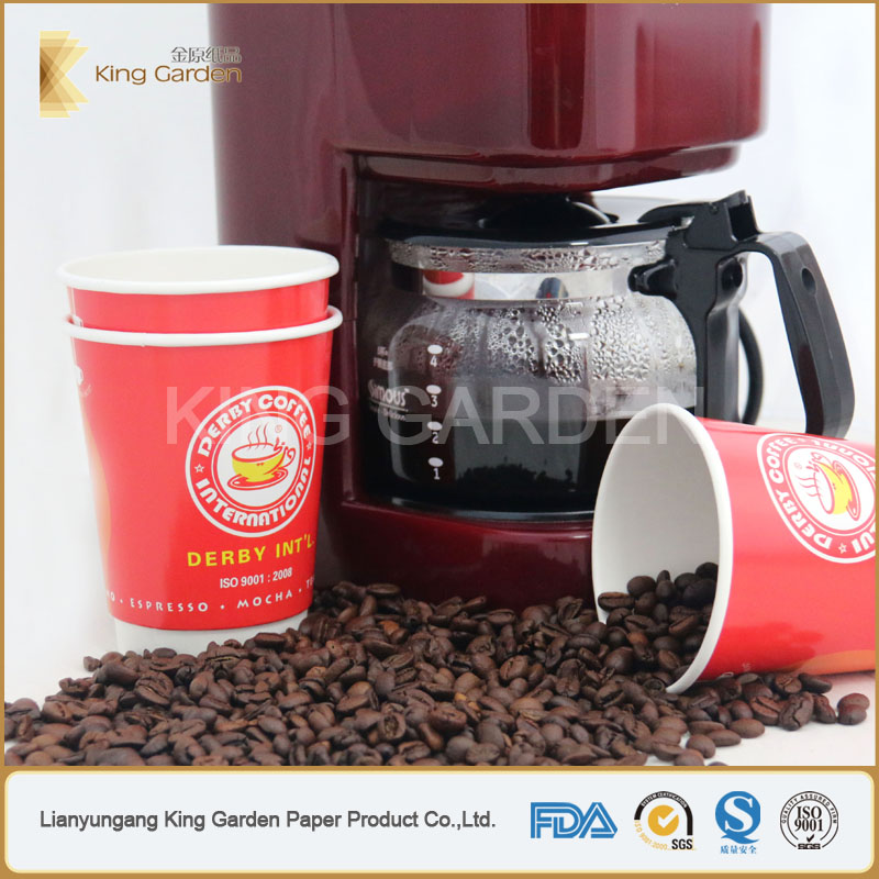 Flexo Offset printing disposable coffee paper cup