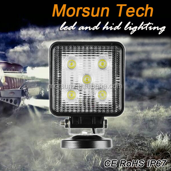 12v&24v 15w Led Work Light,off-road Tractor Led Working Lamp 15w Led Flood/spot Beam Worklight