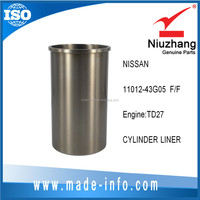 Hot selling Auto TD27 engine Cylinder liner 11012-43G05 F/F