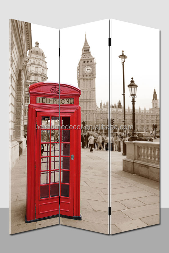 london special red telephone booth ,Room Dividers Screen for sale