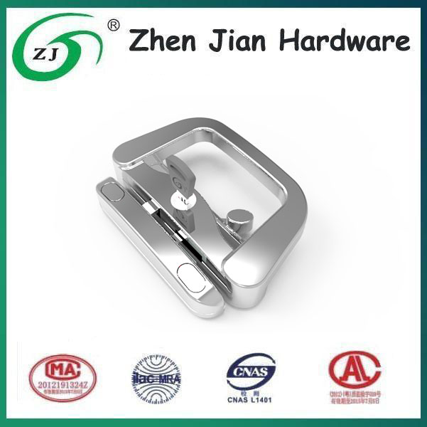 High quality keyed entry patio door handle lock with pusher, luxury lock for casement door