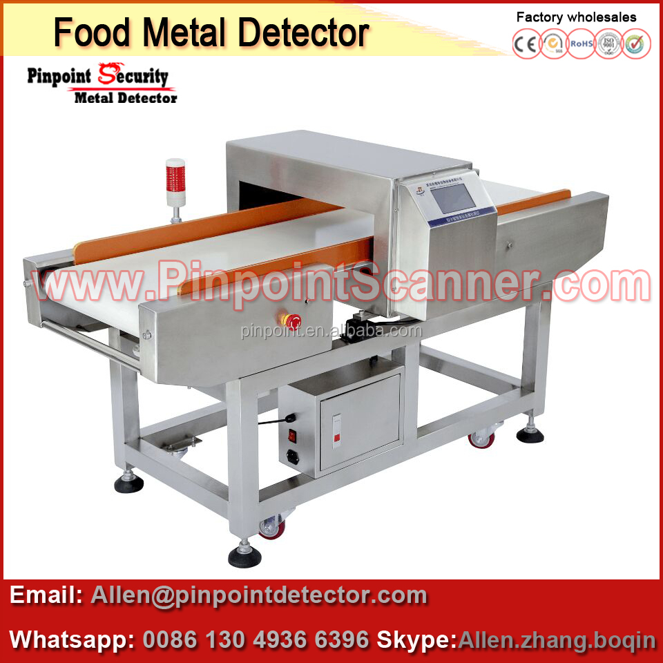 Digital Industry Used Food / Clothes Needle Metal Detector Price