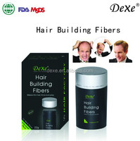 Beauty Salon Products With Cotton Fiber Fill Fast And Magic Cover The Thin Hair Dexe Hair Building Fibers