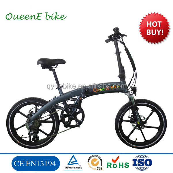 2016 Light Weight Foldable Electric Motorcycle Scooter with Seat Portable Mobility Folding Electric Bike E Bike Lithium Battery