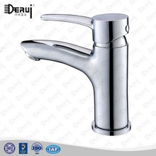 china single hole brass wash basin taps with ceramic valve core