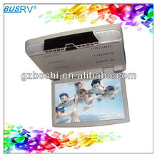 good quality 15 inch car monitor with DVD player