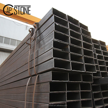 Rectangular box section hollow metal tube carbon steel pipe with high quality