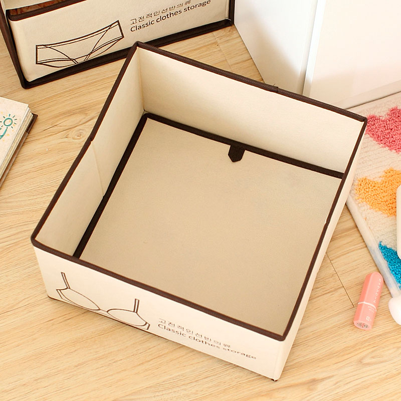 China manufacturer bra and underwear storage boxes
