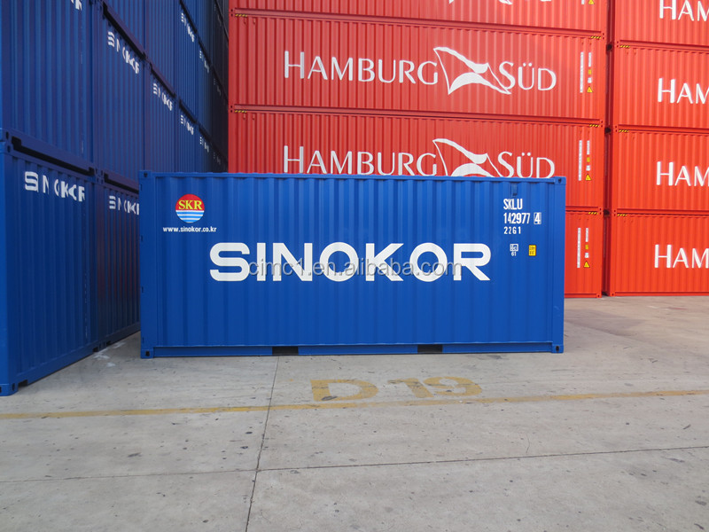 ISO 9001 Certification and 20' Length (feet) Dry Cargo Shipping Container for Sale