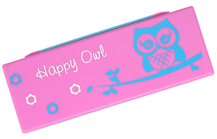 INTERWELL PPB40 Promotional Pencil Case, Fancy Colored School Pencil Box