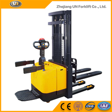 1.4T AC Motor Powered Pallet Truck Semi Electric Warehouse Forklift Stacker