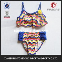 China fast delivery xxx bikini girls swimwear photos hot sexy girl swimming wear with printed fabric for wholesale