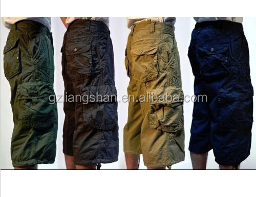 Oem Mens Military-style 100% Cotton Solid Color 19
