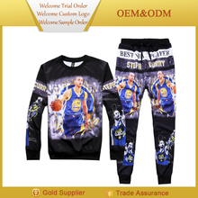 Stylish hot sale jogging pants men cheap jogging suits/clothes of basketball patterns