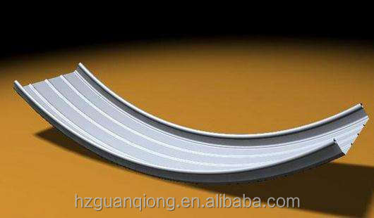 Curved Roofing Sheet, Curved Aluminum Roofing Panel