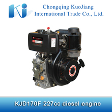 Light weight small river boat diesel engine