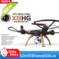 New drone syma X8HG with WIFI FPV 8MP Camera 360 Degree Flip RC Quadcopter