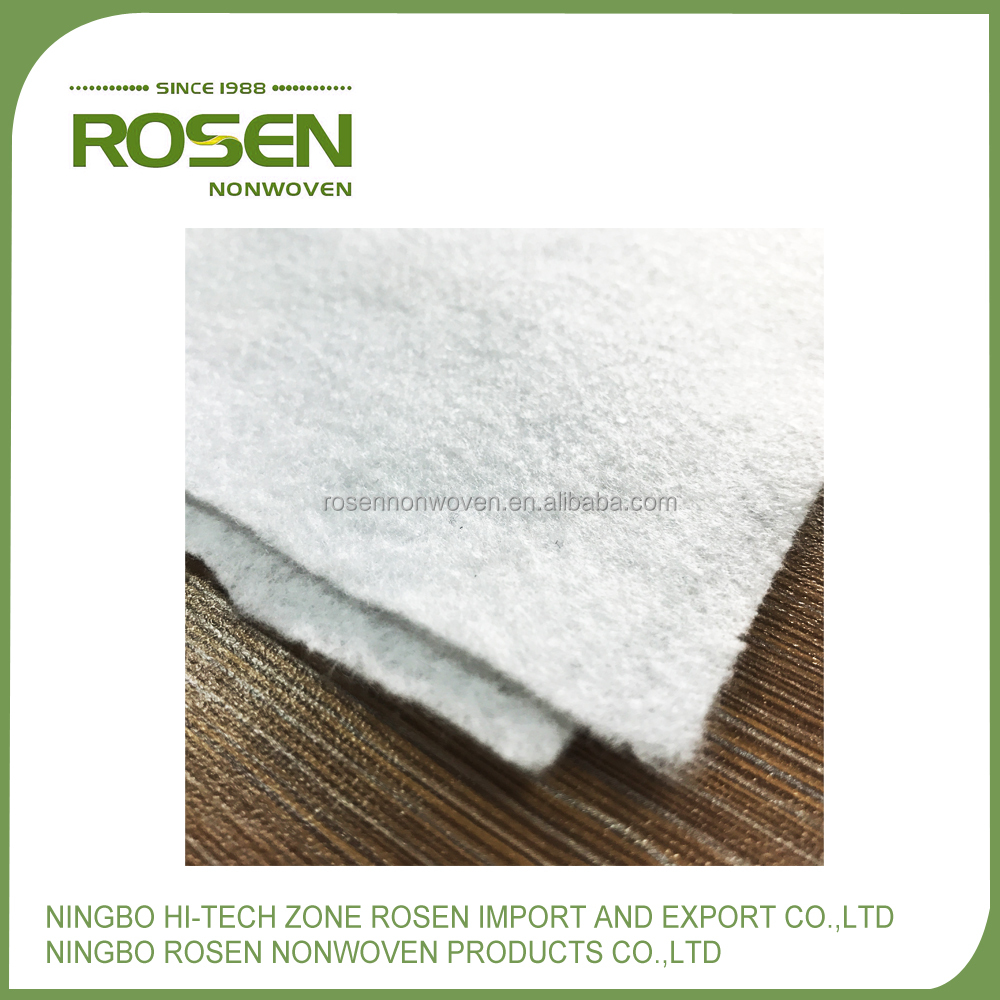 RS NONWOVEN good quality needle punch 100% pet car trunk fabric